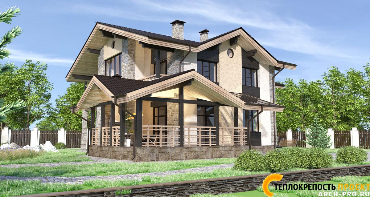 Проект дома в Петербурге