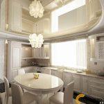 Дизайн интерьера коттеджа кухня столовая