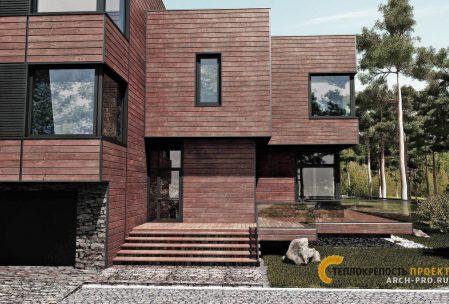 Проект дома в скандинавском тиле