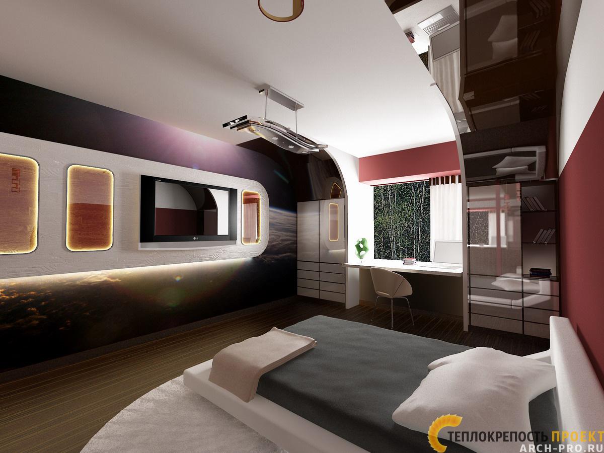 Интерьер комнаты мальчика 16 лет