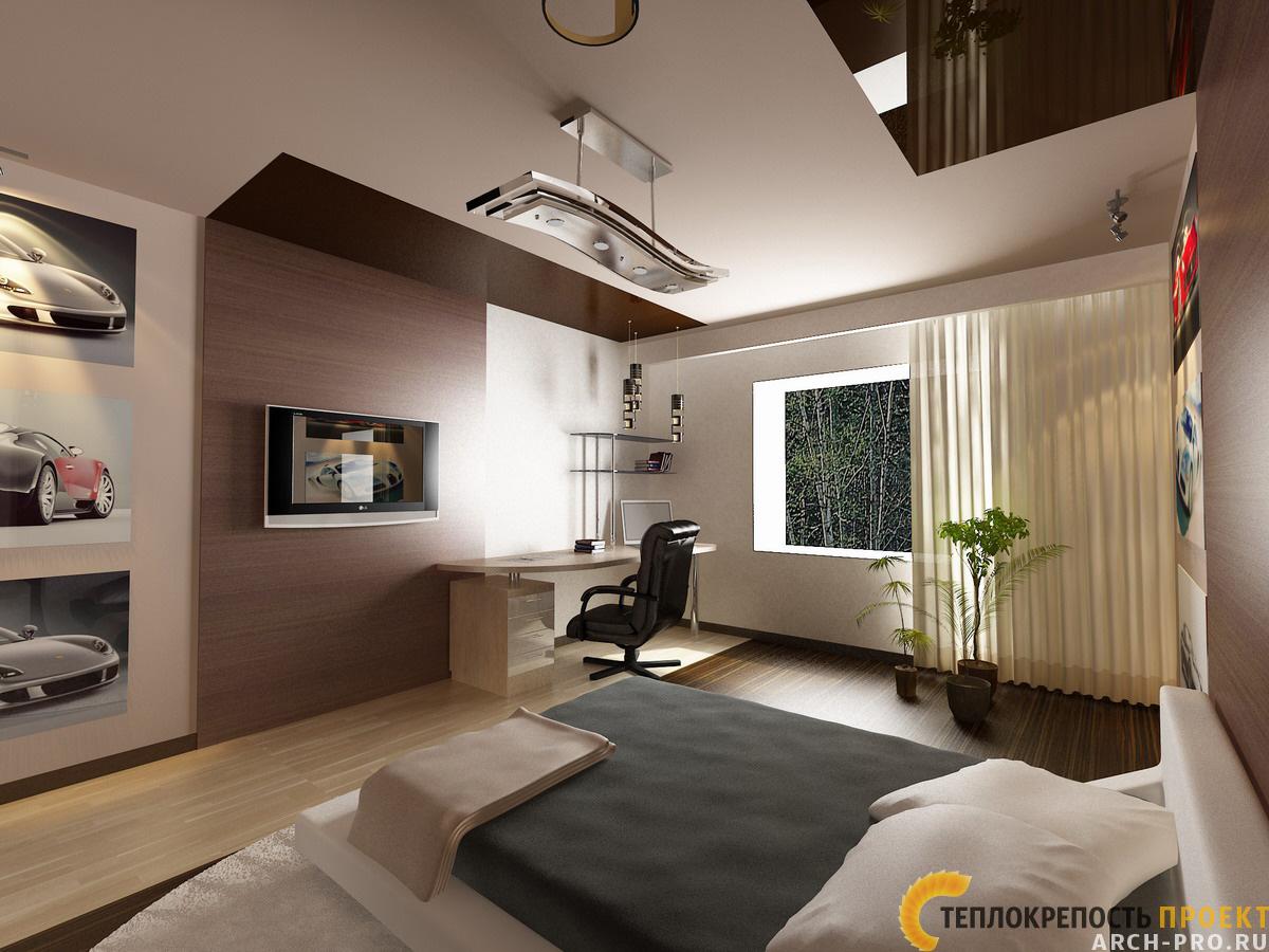 Дизайн комнаты для юноши 16 лет