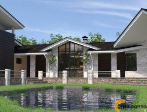 Проекты домов с большими окнами