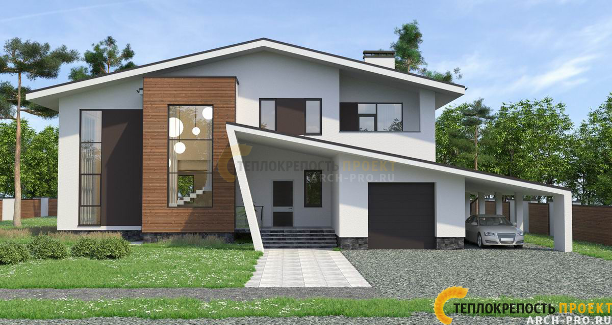Оригинальный проект дома