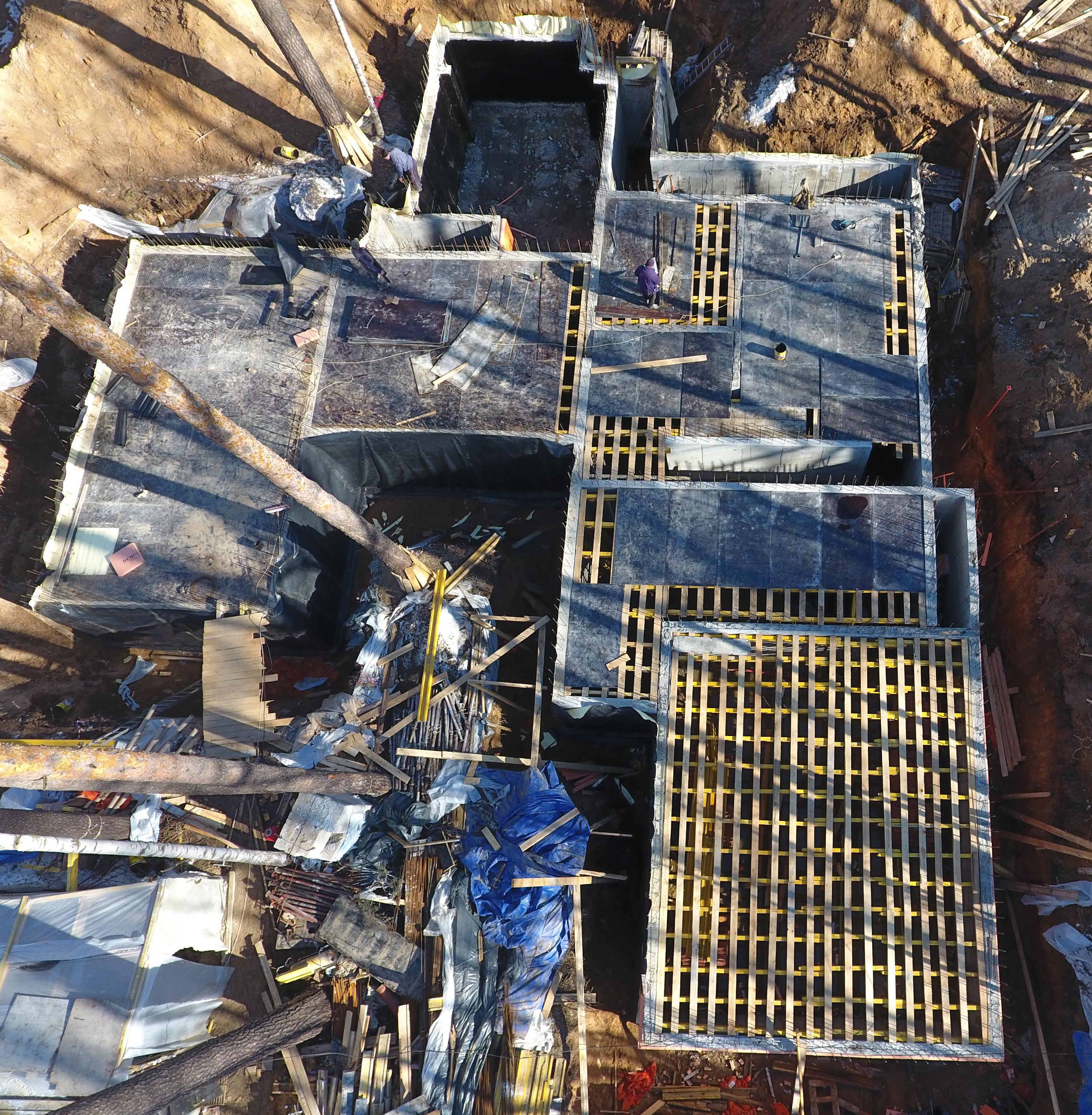 Строительство дома хай тек с плоской крышей