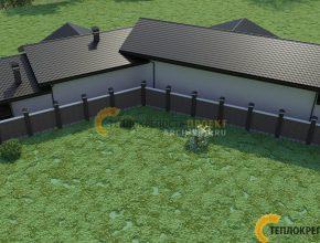 Баня со вторым светом проект