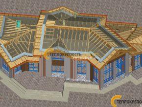 Проект кирпичного дома бани. Проектирование.