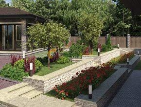 Террасы и цветники
