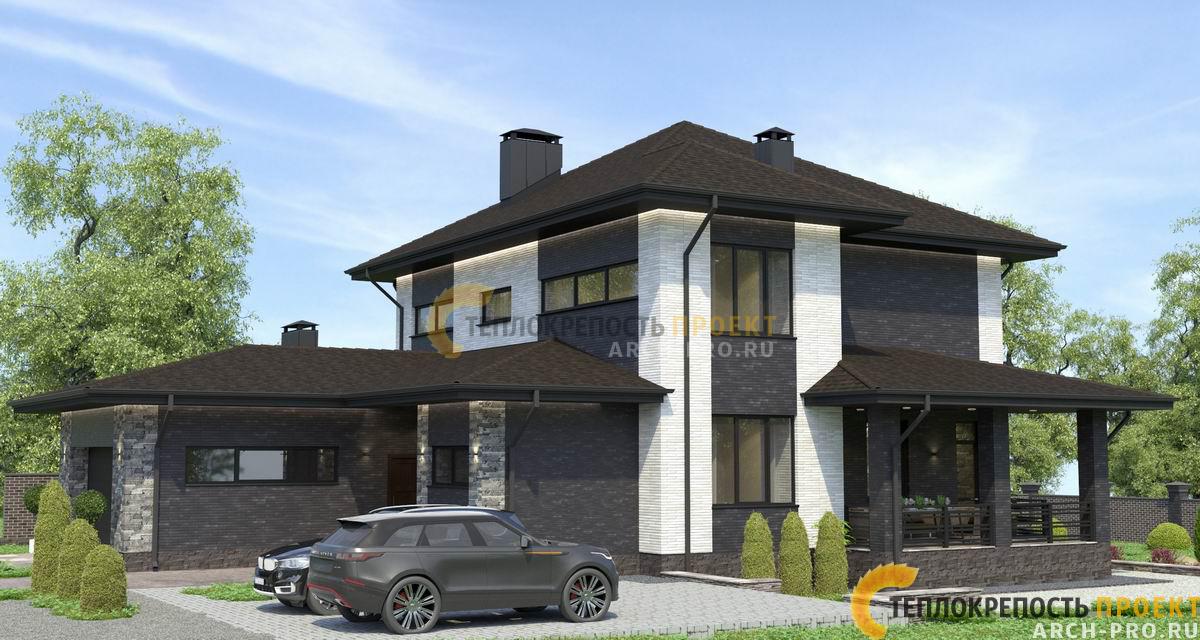 Наружный дизайн дома